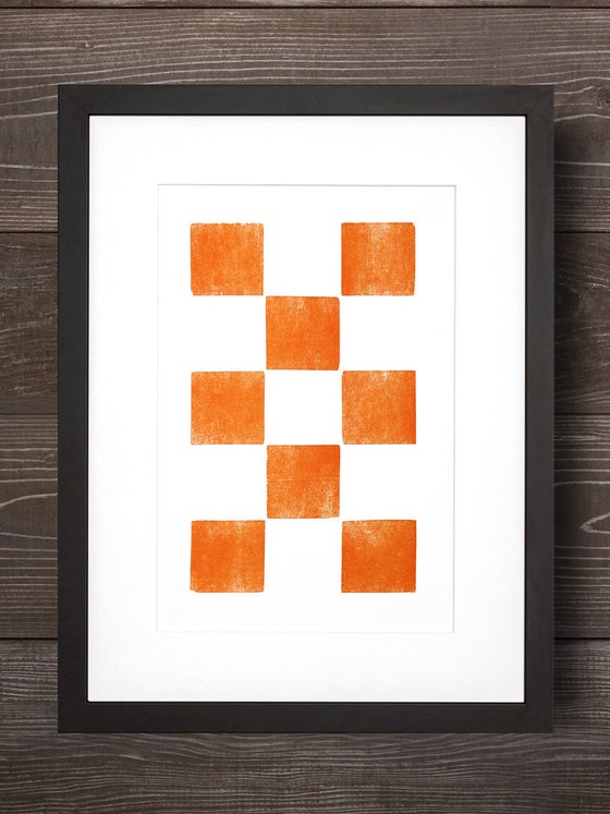 Image of The Old Try- Eight Orange Squares