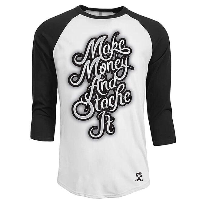 Image of Make Money Rangel 3/4 sleeve TSHIRT