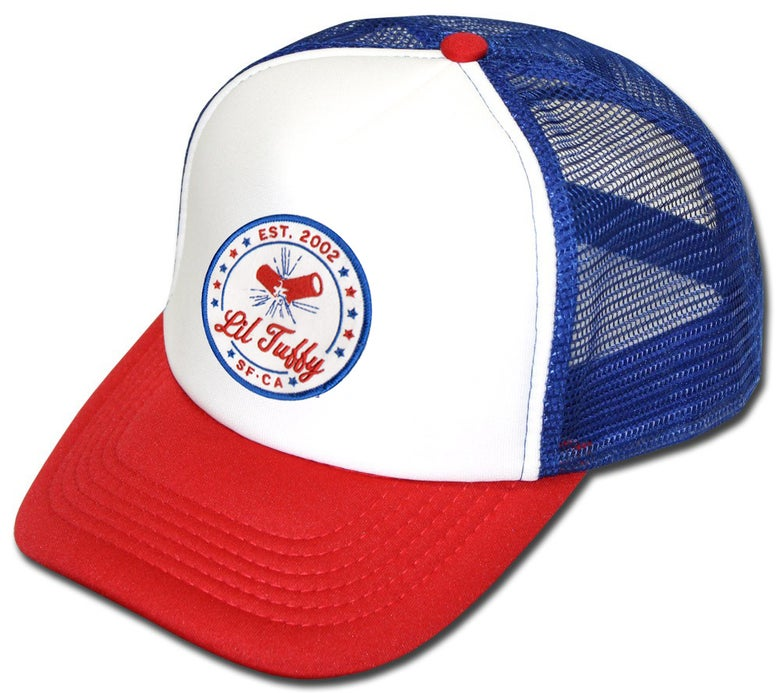 "Image of Lil Tuffy ""USA"" Trucker Hat"