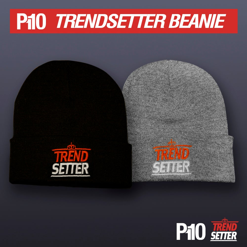 Image of Black/Grey #TrendSetter Beanie