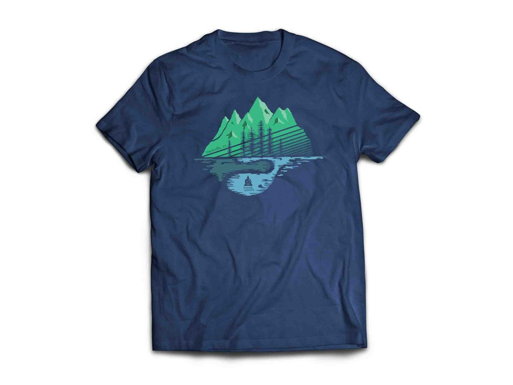 Image of Made in Colorado T-Shirt  Navy