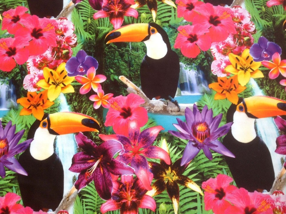 Image of CELINE Leggings in TROPICAL TRIP Digital Print