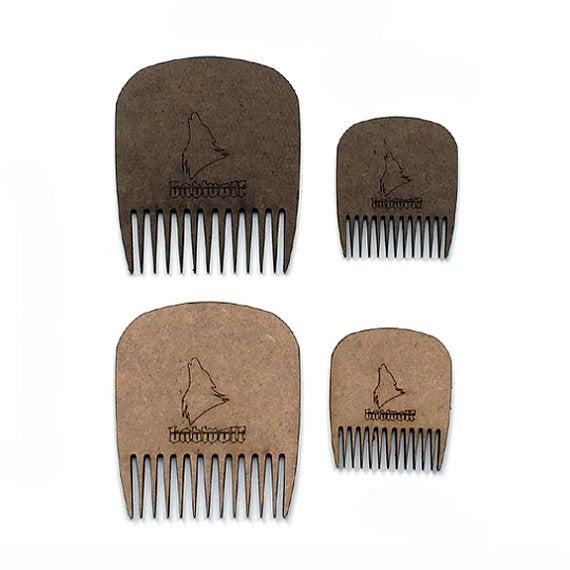 Image of BadWolf 'Leatherneck' Pocket Beard Comb