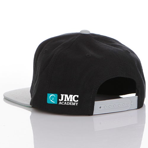 Image of JMC Academy Two Tone Flat Peak Cap