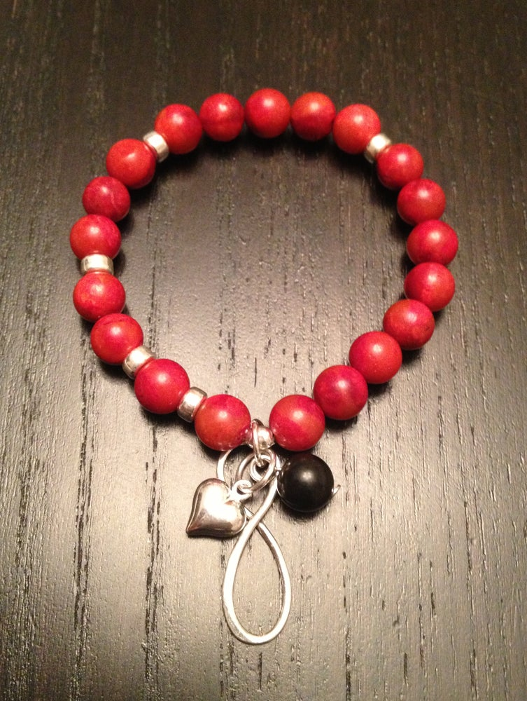 Image of 'Self Love' Infinity Wrist Mala