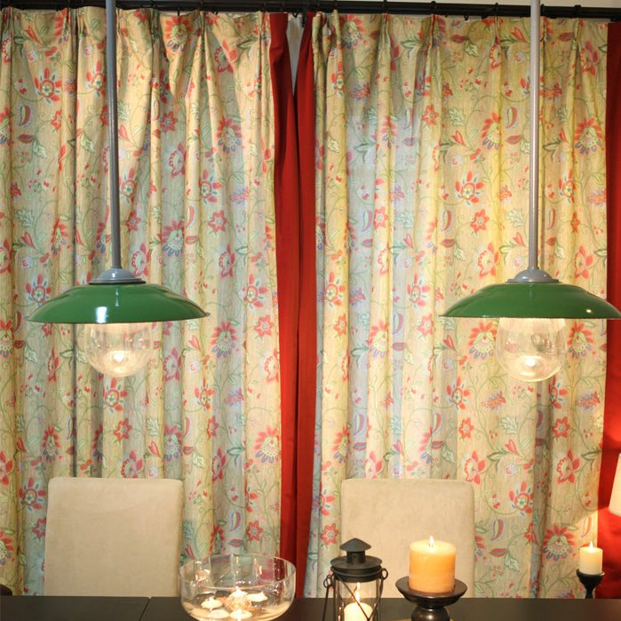 Image of How to purchase the curtains and the match up of the colors?