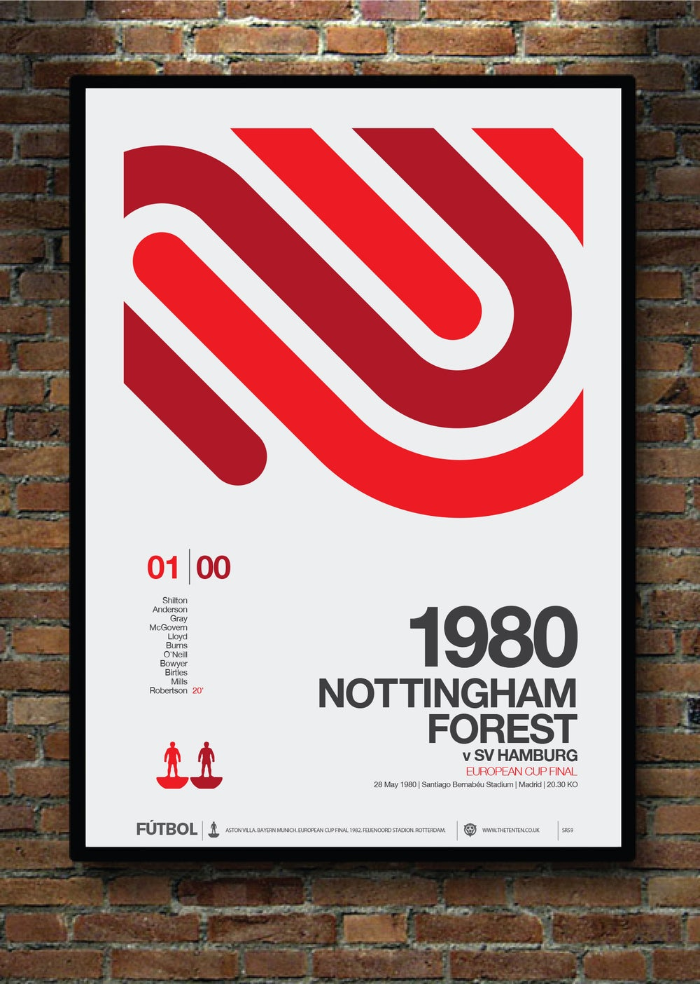 Image of NOTTINGHAM FOREST 1980 EUROPEAN CUP FINAL