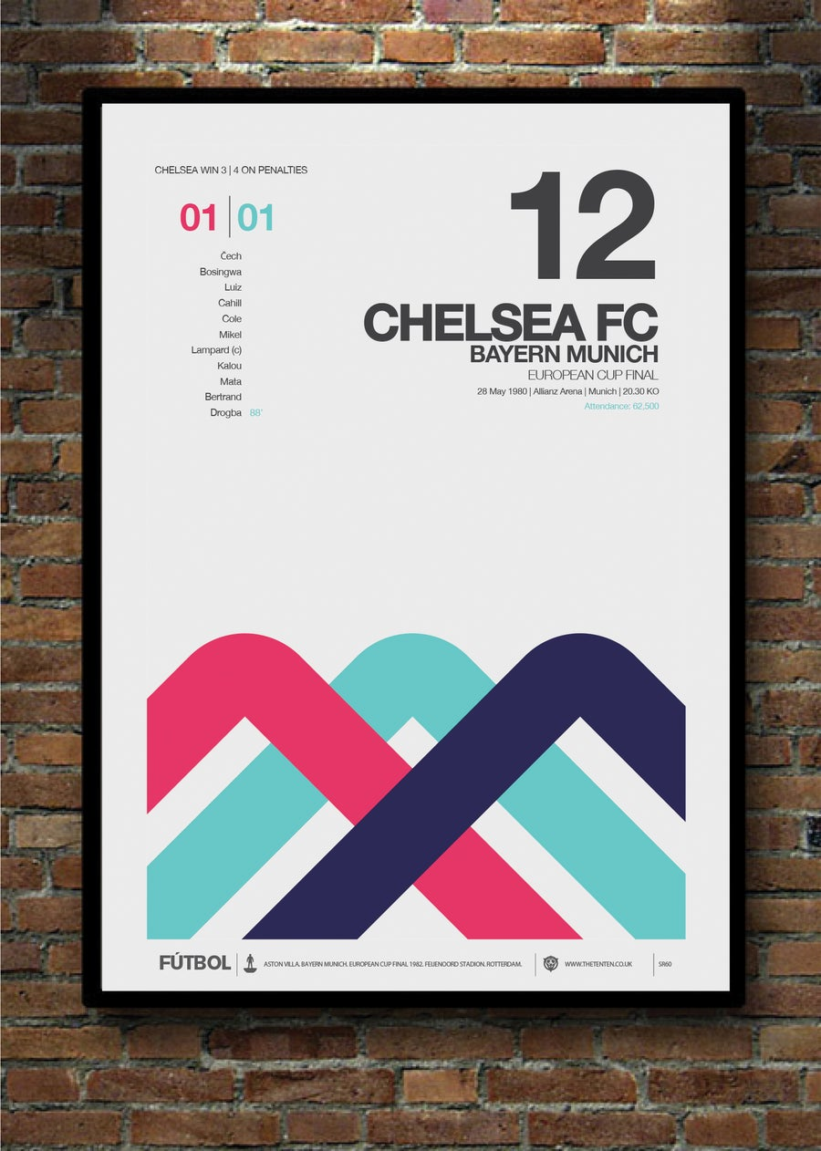 Image of CHELSEA 2012 EUROPEAN CUP FINAL