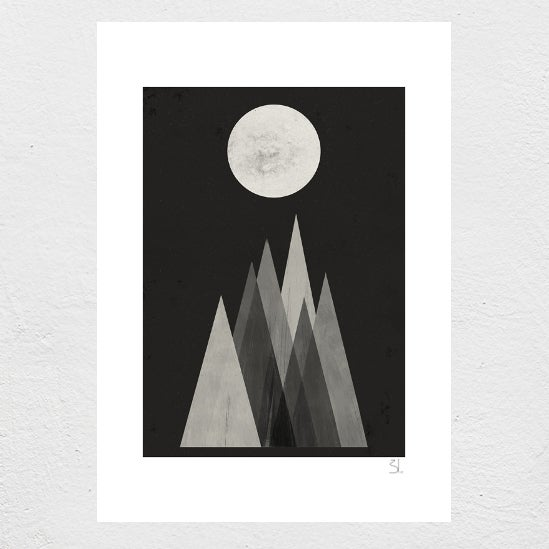 Image of Lunar Eclipse print