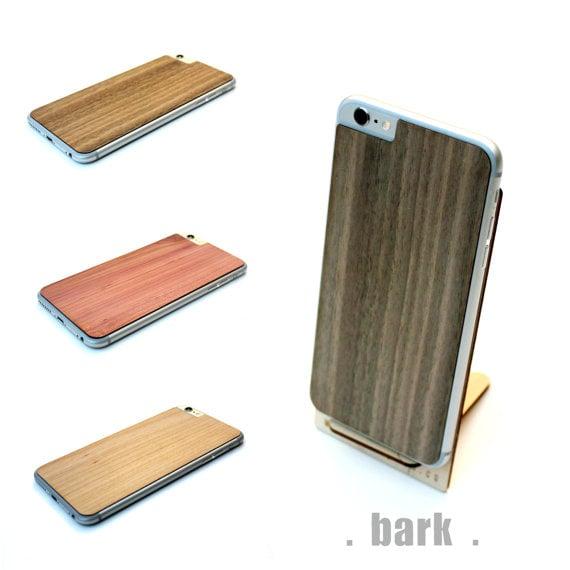 Image of TIMBER iPhone 6 Plus Natural Wood Skin Back - Free Shipping USA