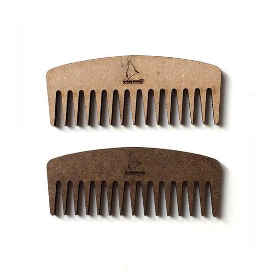 Image of BadWolf 'Nomad' Pocket Beard Comb
