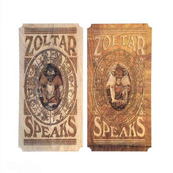 Image of Zoltar Fortune Teller Card - Wall Art