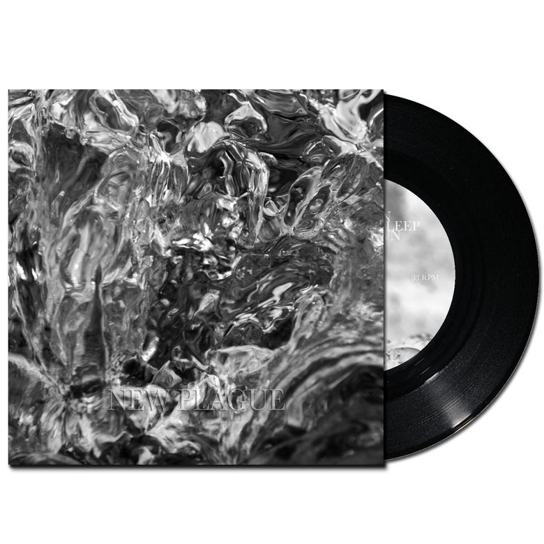 "Image of New Plague S/T EP, 7"" Vinyl Black"