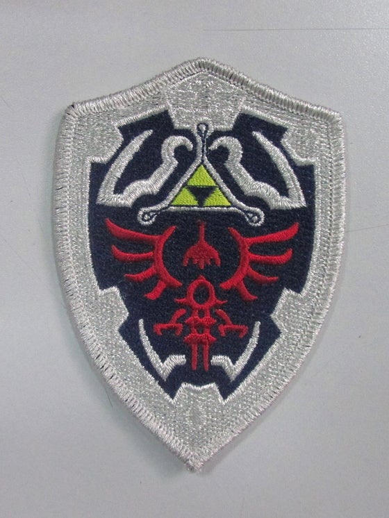 Image of Zelda Triforce Shield Patch