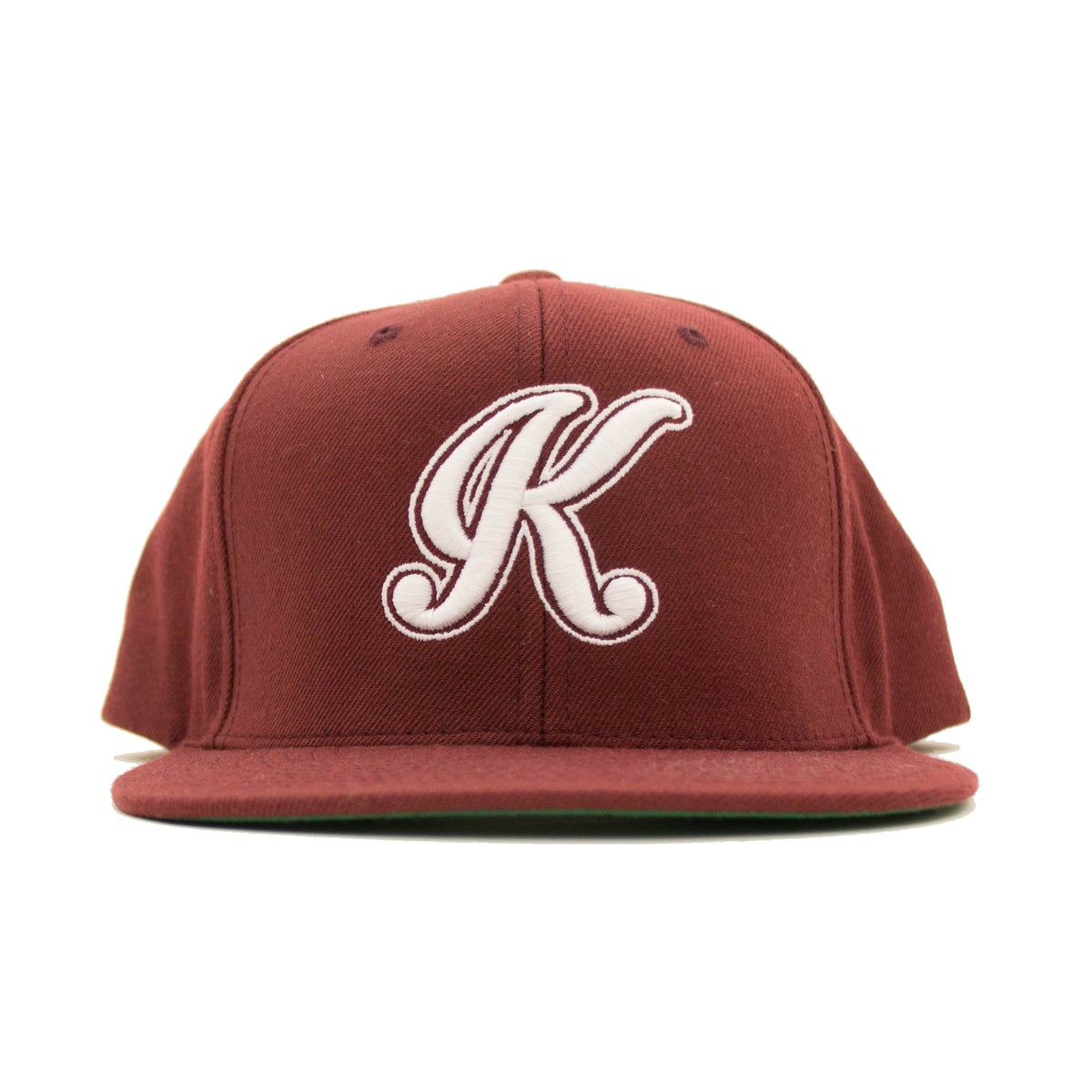 Image of Intro K Snapback (Maroon)