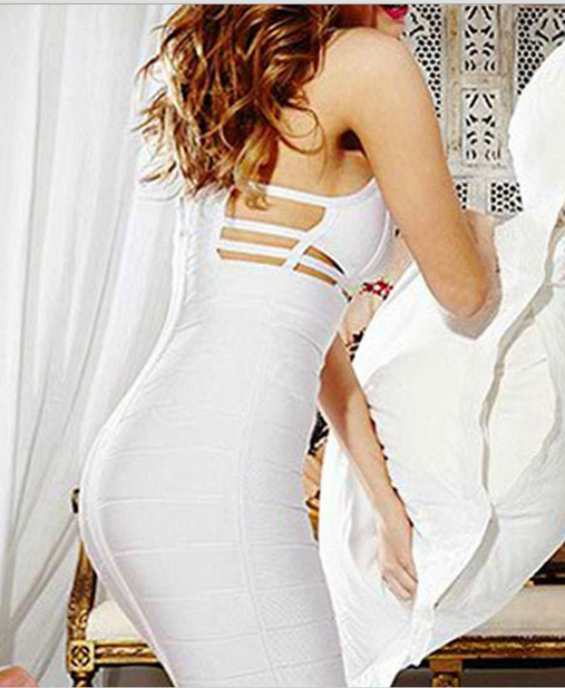 Image of FASHION HOLLOW OUT SEXY DESIGN DRESS