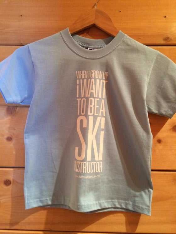 Image of Kids T-Shirt When I Grow Up