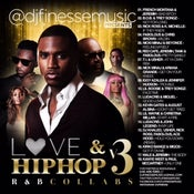 Image of LOVE & HIP HOP MIX VOL. 3 (R&B COLLABOS)
