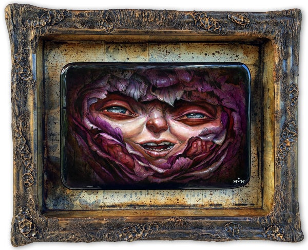"Image of ""Delirium"" original painting"