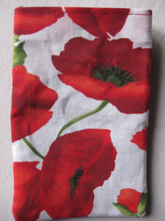 Image of Poppies - Mobile Phone Pouch