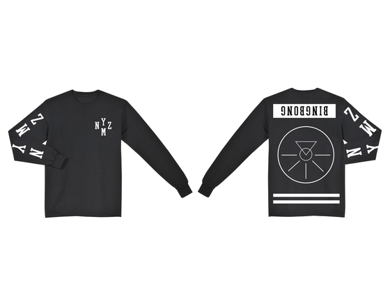 Image of BINGBONG LONGSLEEVE ON BLACK
