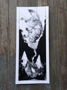 "Image of ""XII"" silk-screened print"