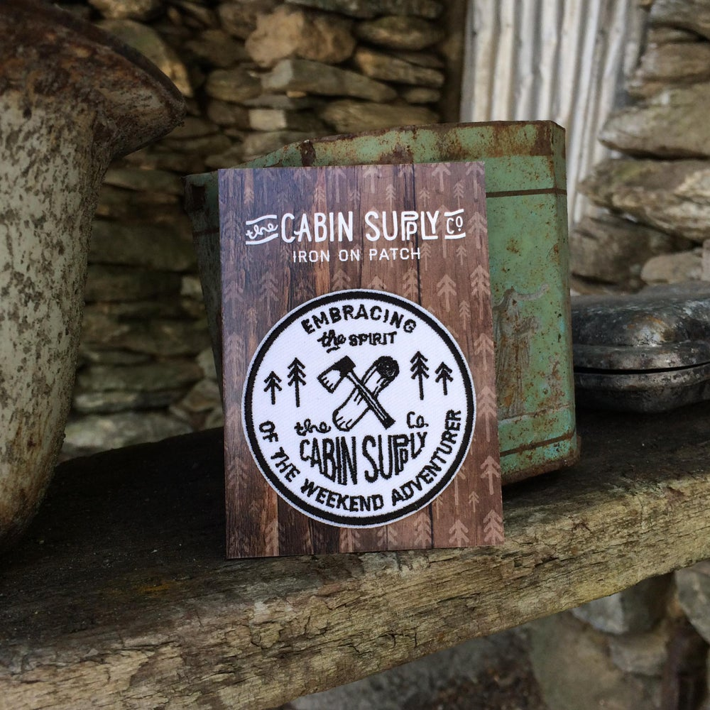 Image of cabin supply patch