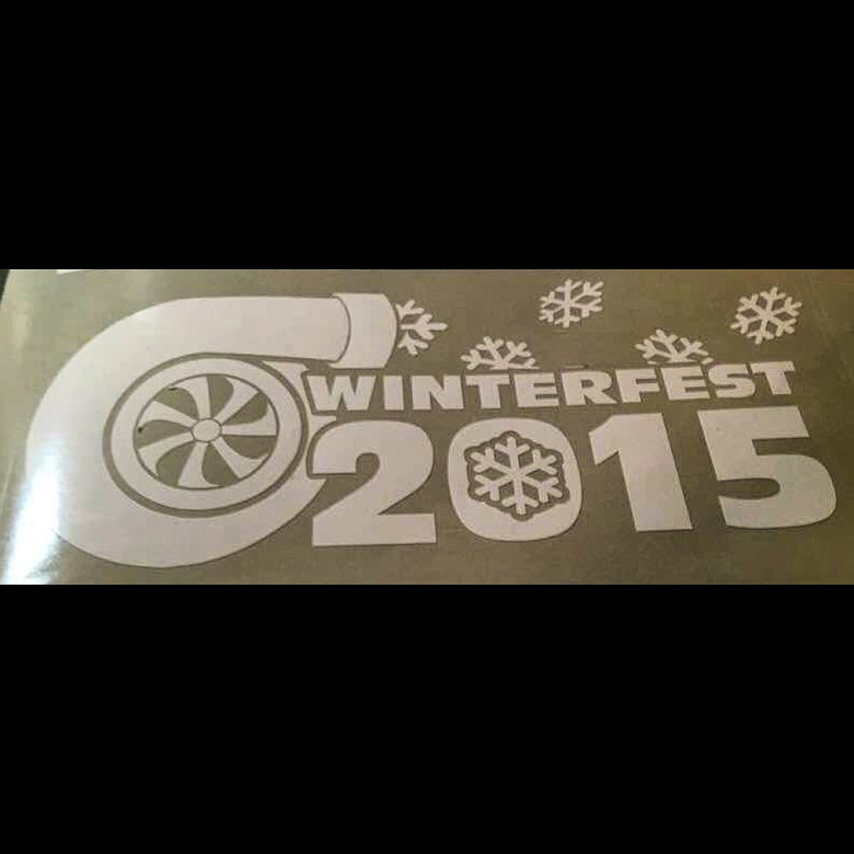 Image of Limted Edition Winterfest 2015 Decal