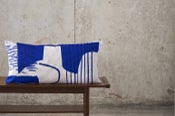 Image of 'Assemble / Configure' Cushion - Cobalt Blue
