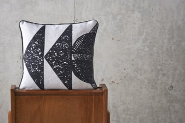 Image of 'Collagraph' Geo Cushion