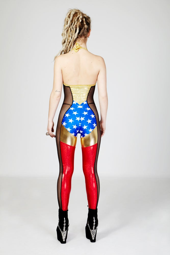 Image of WONDER WOMAN CATSUIT