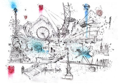 Image of Southbank - Limited Edition Print