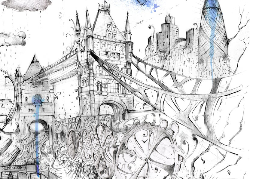 Image of Tower Bridge - Limited Edition Print