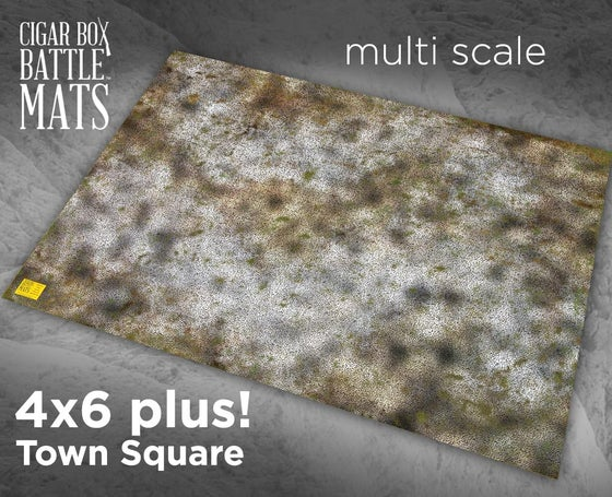 Image of Town Square -- 4'x6' plus -- #170