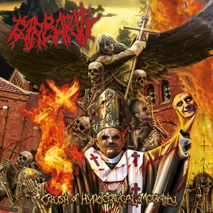 Image of BARBARITY Crush Of Hypocritical Morality CD OUT NOW !!!