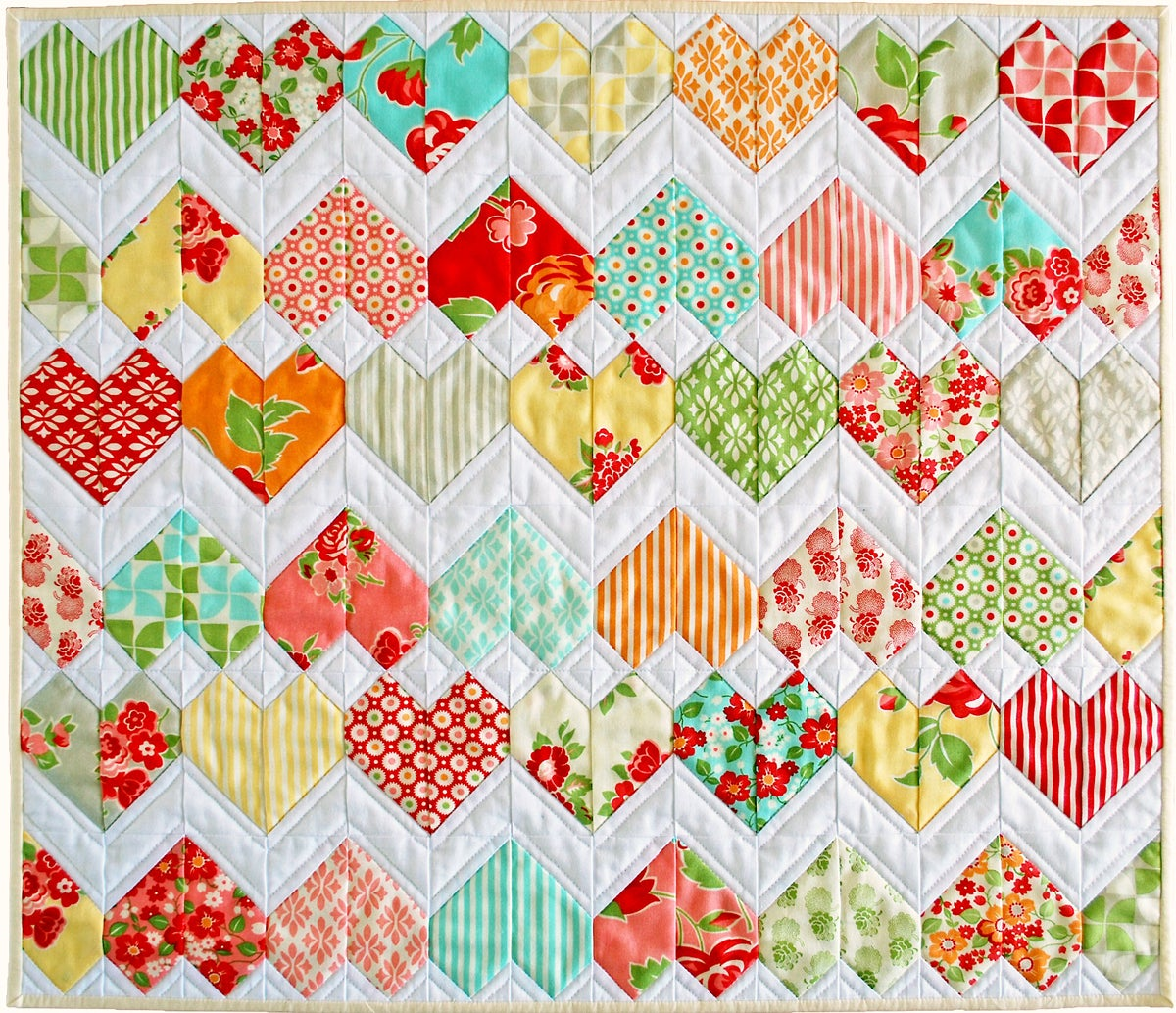 Image of ZigZag Love - PDF Quilt Pattern