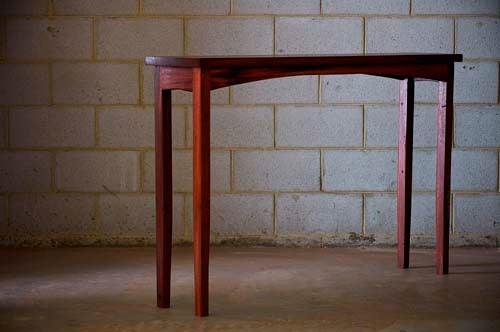 Image of Jarrah hall table