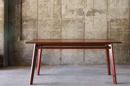 Image of Jarrah dining table