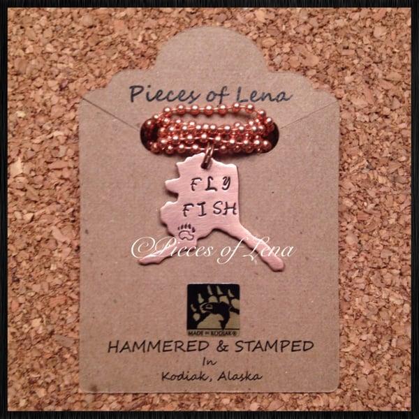"Image of Alaska ""FLY FISH"" Pendant"