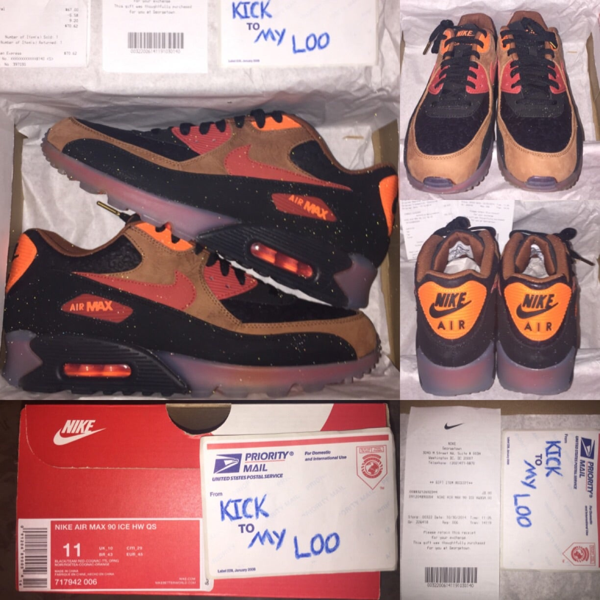 Nike Air Max 90 ICE Premium 2014 Halloween QS [11]