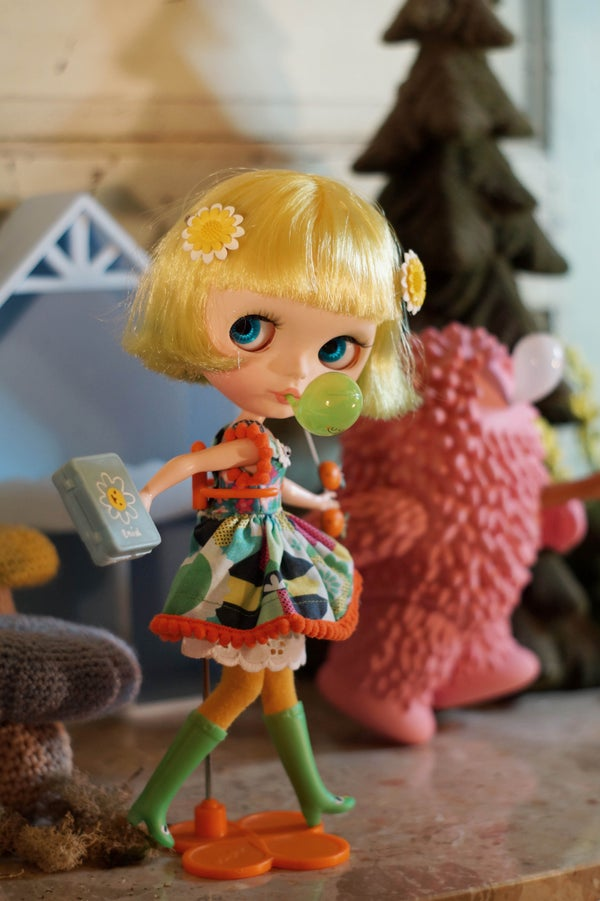 Image of OOAK Custom Blythe Doll by Vanessa Jacob : A Date w/ Blythe Auction