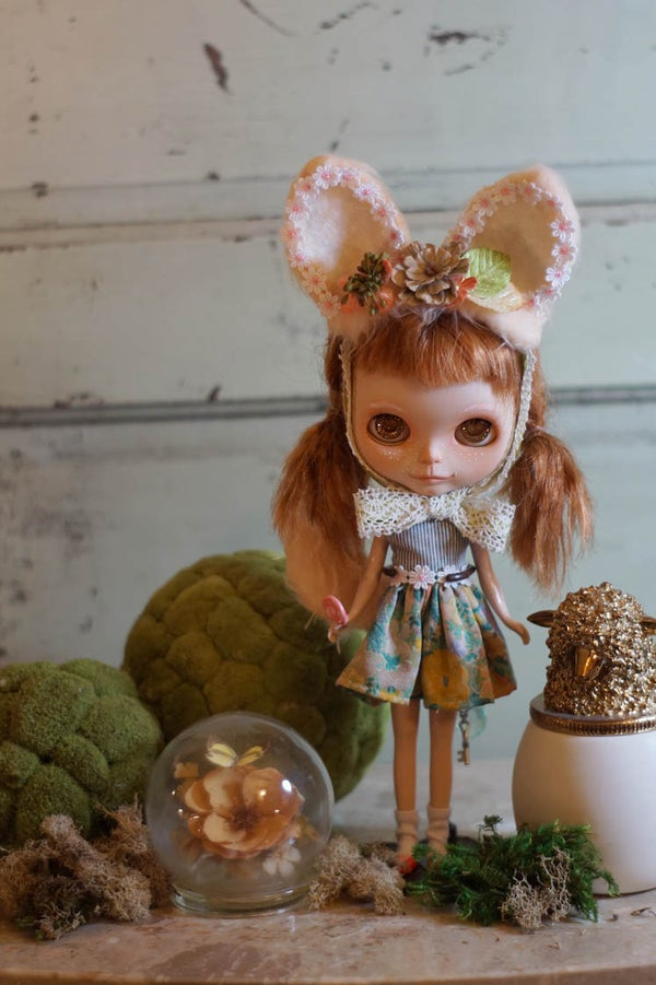 Image of OOAK Custom Blythe Doll by Rhodora Jacob : A Date w/ Blythe Auction