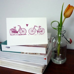 Image of Bicycle Love Card