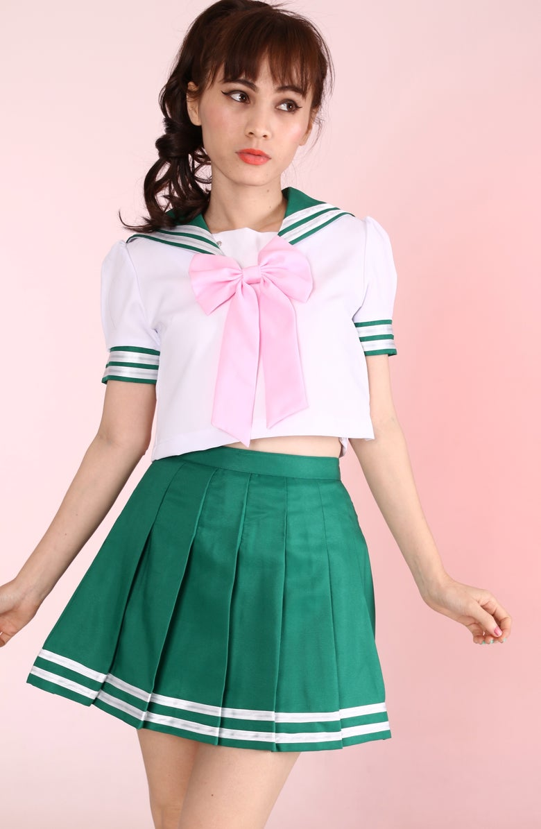 Image of Sailor Jupiter Inspired 2 Piece Set