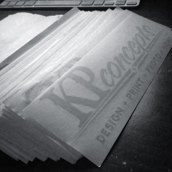 "Image of 8x2"" KP Sticker"