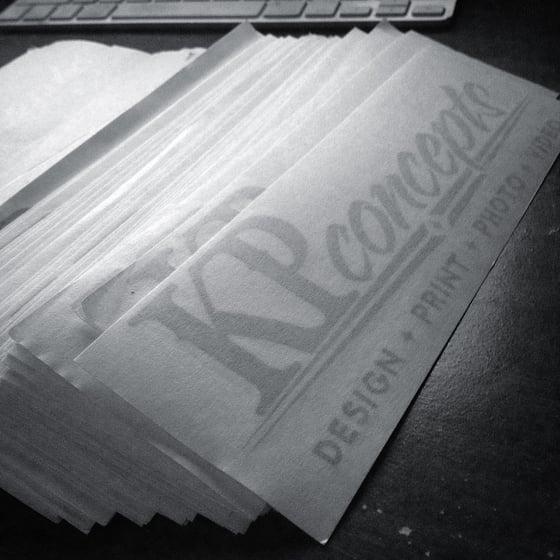 "Image of 8x2"" KP Sticker"