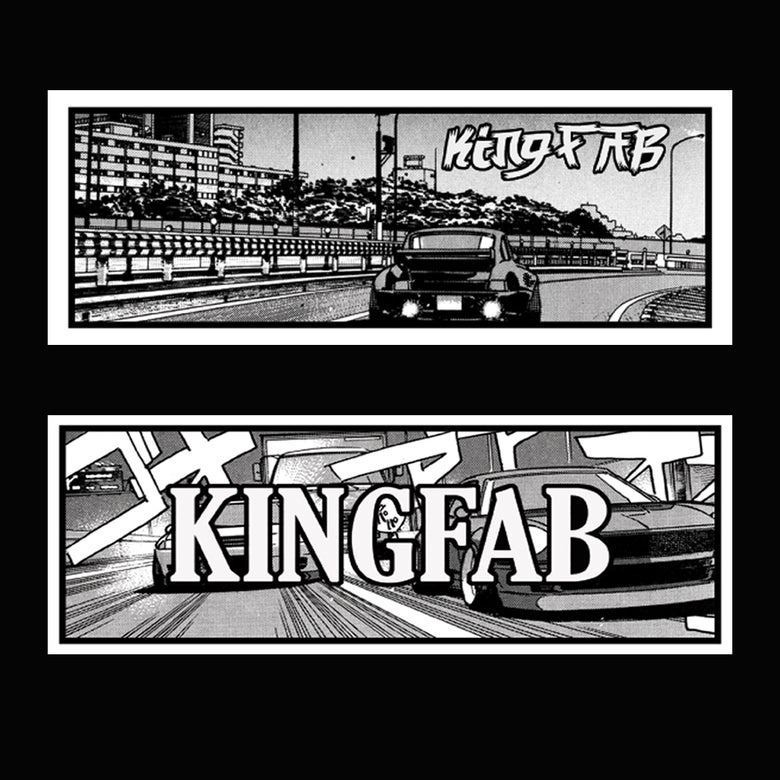 Image of 'KingWan' Stickers *New Design To Collect!*