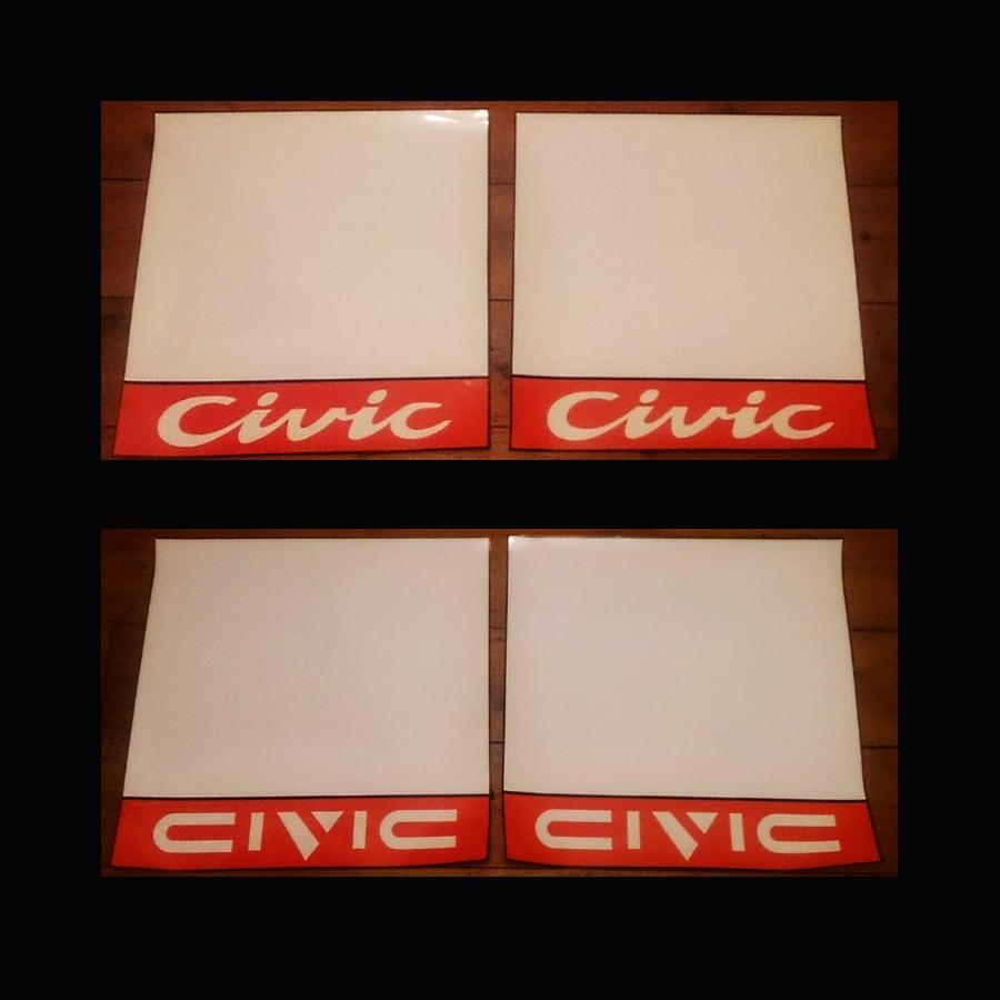Image of Kanjo Race Number Boards - Civic
