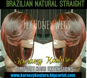 Image of BRAZILIAN/PERUVIAN NATURAL STRAIGHT **Extremely Limited Stock**