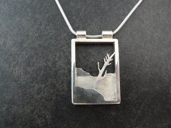 Image of Island with Tree - shadow box